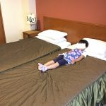箱根のマイユクール祥月に、3世代旅行。お年寄りにも幼児にも最高の宿でした!